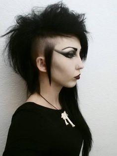 Sebastian Columbine #goth #beauty