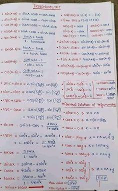 Math Vocabulary, Maths Algebra, Ap Calculus, Math Tutorials, Maths Tricks, Math Formula Chart, Algebra Formulas, Math Charts, Maths Solutions