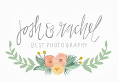 SHANNON KIRSTEN BLOG | recent work: Best Photography watercolor logo
