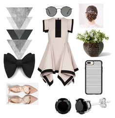 """Untitled #32"" by dariana-achim on Polyvore featuring Casetify and Ray-Ban"