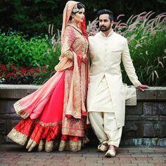 Nomi Ansari Bridal & Deepak Perwani Sherwani