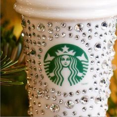 blinged out Starbucks cup