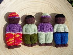 Duduza (Comfort) Dolls & Juggling Eyeballs - FREE pattern links! - KNITTING
