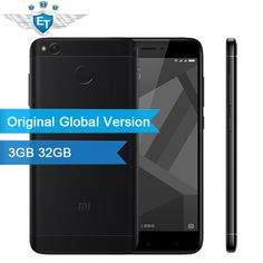 "Xiaomi Redmi 4X 32GB Global Version 3GB 5.0"" HD Screen Snapdragon 435 Octa Core 4100mAh 13.0MP FDD LTE OTA MIUI8.2  Price: 171.68 USD"