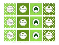 {Free Printable} Happy St. Patrick's Day Party Decor!