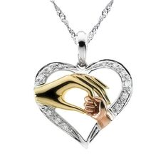 Cheap necklace baby, Buy Quality heart pendant directly from China mom necklace Suppliers: 2017 Mom Necklace Baby Heart Pendant Mother Daughter Son Child Family Love Cubic Zirconia Jewelry Moms Birthday Gift Box Family Necklace, Kids Necklace, Love Necklace, Necklace Types, Heart Pendant Necklace, Pendant Jewelry, Rhinestone Necklace, Necklace Chain, Fashion Necklace