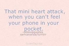 My phone is my whole world! I can't do without it...<3