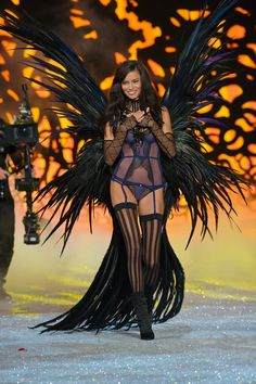 Pin for Later: 16 Years Later, and Adriana Lima Is Still One Seriously Sexy VS Angel 2011