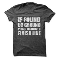 IF FOUND ON GROUND - This makes a perfect gift for family and friends or a great design for yourself. Choose from tees or sweatshirts. *Exclusive Design - Not sold in stores! T-shirts raise awareness, boost spirits and create lasting connections!