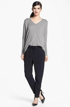 These pants are amazing!  Very comfortable, and great for casual or a night out on the town! Trouvé Sweater & Pants  available at #Nordstrom