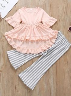 Girls Dresses Sewing, Stylish Dresses For Girls, Frocks For Girls, Toddler Girl Dresses, Toddler Girl Clothing, Baby Dresses, Toddler Outfits, Kids Clothing, Girls Fashion Clothes