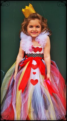 Queen of Hearts Tutu Dress Red Queen Outfit by willowlaneboutiques, $55.00