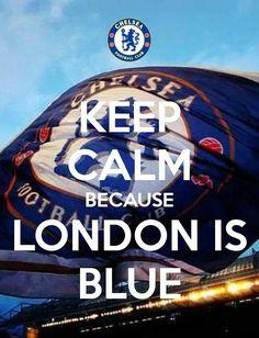 London is blue!!!