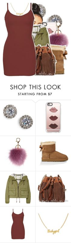 """7/3/16"" by lookatimani ❤ liked on Polyvore featuring Nadri, Casetify, UGG Australia, Aubin & Wills, Diane Von Furstenberg and BKE core"