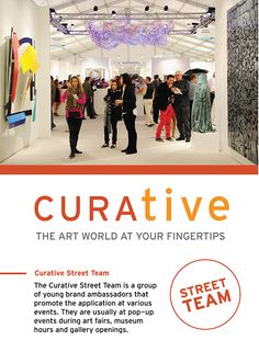 This is the Advertising Campaign for the Curative mobile application. Team Events, Brand Ambassador, Advertising Campaign, Student Work, Art Fair, Art World, University, Colleges, Student Jobs