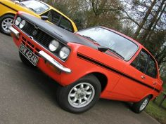 A 1972 Hillman Avenger Tiger, produced in Coventry by Chrysler Competitions Department. Cars Uk, 70s Cars, Classic European Cars, Ford Granada, Cool Old Cars, Dodge Avenger, Jeep Cj, Ford Escort, Rear Wheel Drive