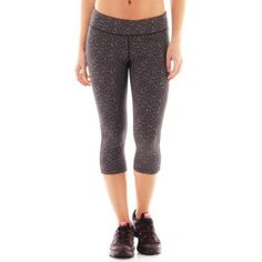 043f01334d Xersion™ Allover Print Capris found at  JCPenney Athletic Clothing Brands