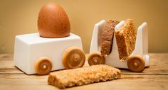 Breakfast Express Egg And Toast Train