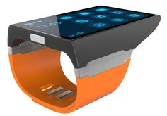 The Rufus Cuff - more than a smartwatch. A wrist communicator. | Indiegogo