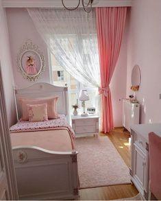 Room Design Bedroom, Modern Bedroom Decor, Room Ideas Bedroom, Home Room Design, Kids Room Design, Baby Girl Room Decor, Big Girl Bedrooms, House Rooms, Home Fashion