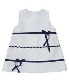 5b264b3f4aa A Line White Baby Dress Μόδα Για Κοριτσάκια, Μόδα Για Νήπια, Φορέματα Για  Μικρά