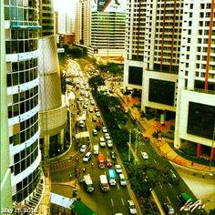 #makati #street #philippines #フィリピン