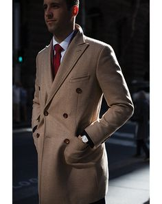 Great Coat. Street style in Sydney #mens #fashion