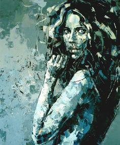 Saatchi Online Artist: Anna Bocek; Twilight I