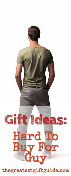 We all have them in our lives - the hard to buy for guy. If you need gift inspiration for your husband (boyfriend), Dad or the dreaded guy who has everything - we have gift ideas for you. These make excellent gift ideas for Christmas or a birthday. Christmas Gifts For Boyfriend, Gifts For Your Boyfriend, Unique Christmas Gifts, Birthday Gifts For Boyfriend, Husband Birthday, Gifts For Dad, Gift Ideas For Guys, Boyfriend Presents, Christmas Presents For Guys