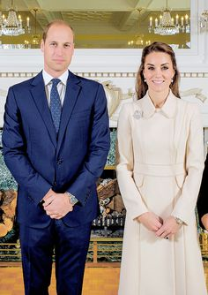 "duchesscambridges: "" ""The Duke and Duchess of Cambridge - Canada 2016."" ""                                                                                                                                                                                 More"