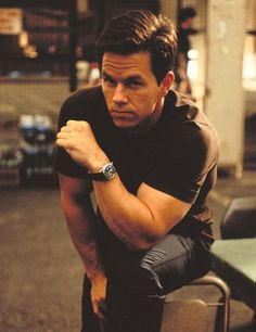 Mark Wahlberg - those arms :)