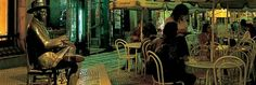 Наверное, все города мира славятся своими памятниками, посвященными великим людям и событиям! Но есть в одном городе памятник, поставленный посетителю кафе. Этот посетитель непростой — это известный португальский поэт Фернандо Пессоа.