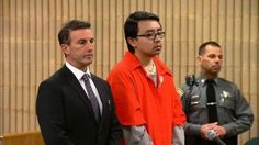 William Dong, was given an eight-year sentence for bringing two handguns for which he had a permit for onto the campus of the University of New Haven where he was a student. (Photo: News 12 Connecticut)
