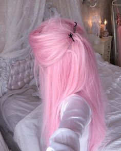 Pastel pink hair, hair color pink, new hair colors, color your hair, Pastell Pink Hair, Hair Color Pink, Hair Dye Colors, Pastel Hair, Cool Hair Color, Pastel Pink, Pastel Blonde, Bright Pink Hair, Colorful Hair