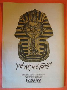 Official Program, Tut:  Seattle Art Museum, Treasures of Tutankhamun Flag Pavilion at Seattle Center July 15  to November by Pistilbooks on Etsy