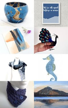 Dreaming in Indigo by Jennifer Ross on Etsy--Pinned with TreasuryPin.com