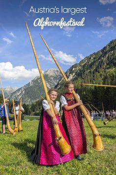 From September to September Kleinwalsertal was all about the Alphorn. Festivals, September, Life, Culture