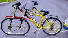 5 सबसे अजीब और विचित्र साइकिले Unique Bicycle Inventions Cool Bicycles, Vintage Bicycles, Cool Bikes, Walking Bicycle, Bici Retro, Electric Cycle, All Mountain Bike, Powered Bicycle, Used Bikes