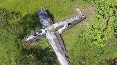 Awesome Drone Footage of B-24 Liberator Wreck Site in Papua New Guinea