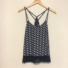 AE patterned tank NWOT! This tank is perfect for spring/summer! 60% Cotton 40% Modal American Eagle Outfitters Tops Tank Tops
