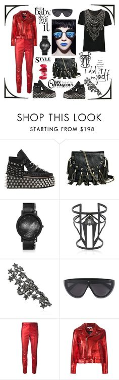 """""""Style passion"""" by zabead ❤ liked on Polyvore featuring Coach 1941, GUESS by Marciano, South Lane, Maria Francesca Pepe, Federica Tosi, Dion Lee, Étoile Isabel Marant, IRO, Marchesa and Rossetto"""