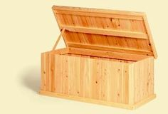 Classic 4 Foot Cedar Chest by Cape May. $268.99. Large enough to store pillows and blankets this cedar chest will also hold copius amounts of toys. It can also be used as a coffee table. . 46L x 24W x 20 H. Aromatic Red Cedar bottom. . Ready to assemble. White Cedar exterior. Comes unfinished . 1 Year Warranty