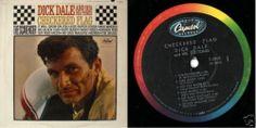 DICK DALE & THE DEL-TONES Checkered Flag 1963 USA 12TRK LP 33 VINYL ALBUM T-2002 | eBay