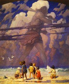ウォルト・ディズニーも手本とした、イラストレーション界の神 N.C.ワイエス NC_Wyeth_01.jpg