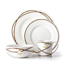 Shop Bromley Dinnerware Place Setting from Ralph Lauren Home at Horchow, where you'll find new lower shipping on hundreds of home furnishings and gifts. Equestrian Decor, Equestrian Style, China Sets, Ralph Lauren Collection, Bath Linens, Dinnerware Sets, China Dinnerware, Place Settings, Table Settings