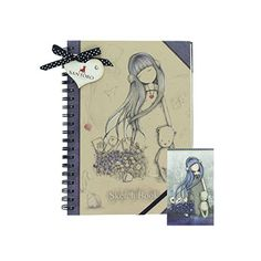 The newest range of Gorjuss products from Santoro London. All Gifts, Gifts For Women, Gifts For Her, Hardcover Sketchbook, Dear Alice, Santoro London, 3d Cards, Stationery, Notebook