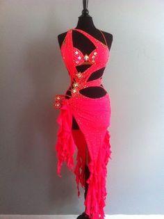 Latin Dance Dress by DesignByNatasha on Etsy