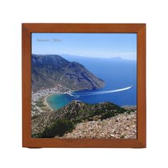 Personalized Greek office & school supplies to wow your co-workers or classmates. Browse custom pens, mouse pads, calendars and much more at Zazzle! Pencil Holder, Greek, Stationery, Mountains, Frame, Cards, Picture Frame, Paper Mill, Pencil Holders