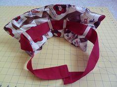 Sakacon: DIY Rice Bag Heating Pad: make a strap like this