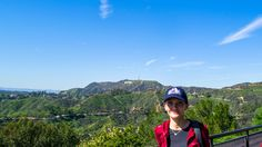 Hike on Hollywood Sign - From our 2-day tour in Los Angeles https://friendlylocalguides.com/los-angeles/tours/2-days-in-los-angeles #girl #sky #nature #hollywood #sign #hiking #hike #hikes #hiking #spring #losangeles #california #losangeles #los #angeles #la #visit #usa #city #friendlylocalguides #